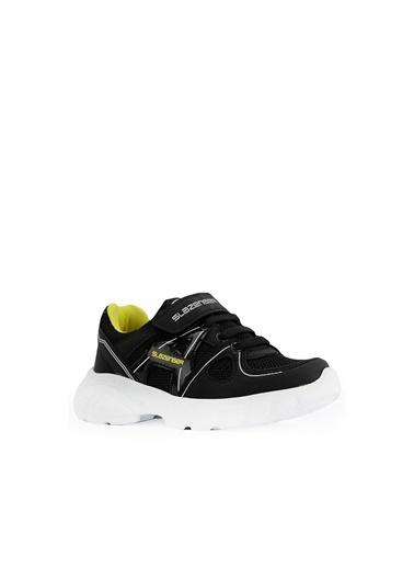 Slazenger Slazenger REBEL Spor Çocuk Ayakkabı   Sarı Siyah